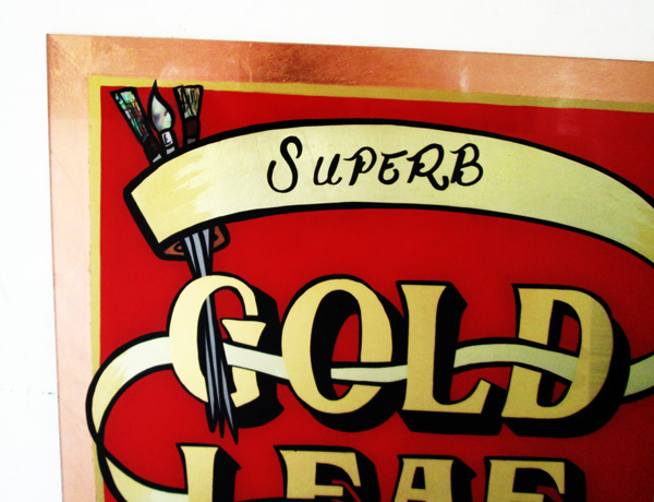 Superb Gold Leaf Signs